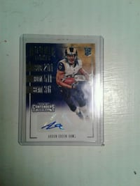 signed football card  Greenville, 75401