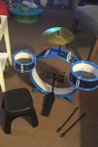 Kid connections my first band drum set