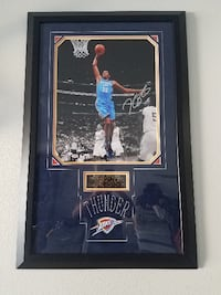 Autograghed Collectable! Kevin Durant Norman
