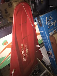 Red metal sled 1960s Freehold, 07728