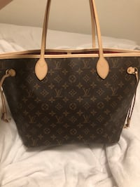 black and brown Louis Vuitton monogram tote bag Austin, 78759