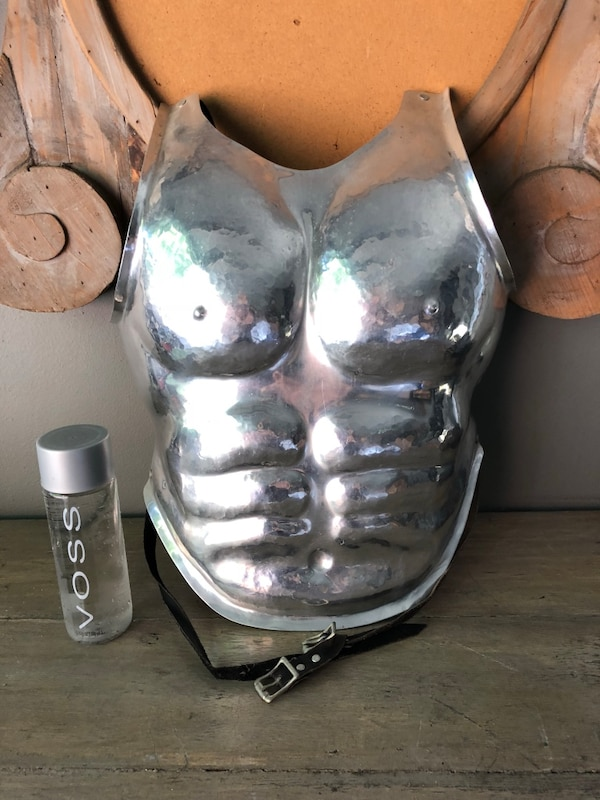 Cast aluminum breastplate
