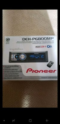 black and gray Pioneer 1-din car stereo Sacramento, 95842