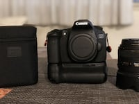 Canon 60D with a lot extras Vancouver, V6B 5P2