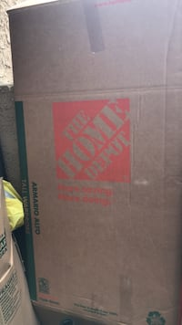 The home depot cardboard moving boxes Vista, 92081