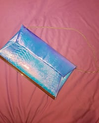 Holographic clutch bag  Manchester, M14 5PR