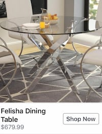 Moving sell Dining table very good quality + 4chairs