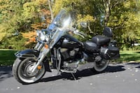 Black and gray touring motorcycle East Stroudsburg, 18301