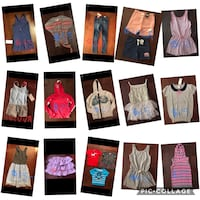 Girls clothes size 8/10 and 10 nwt pricing as marked  Toronto, M9P 1P8