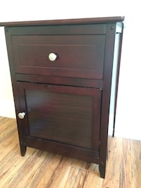 brown wooden 2-drawer chest Los Angeles, 90028