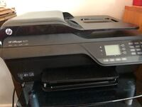 Black and gray HP Officejet printer/scanner/fax/copy Alexandria, 22314
