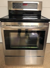 black and gray induction range oven Leesburg, 20176