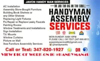 Furniture assembly service Brooklyn