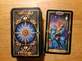 Gilded tarot...missing one card, can b purchased from supplier