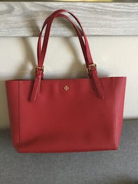 Red Tory Burch  leather tote bag 普拉諾, 75074