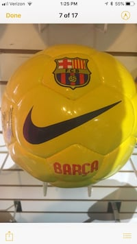 Soccer Ball Barca game ball hand stitched