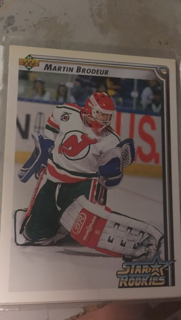 f70cad9c1 Used Martin Brodeur rookie card for sale in Mascouche - letgo