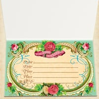 Victorian invitation any occasion  Vaughan