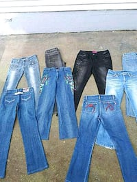 WOMENS JEANS LOT 10 PAIRS