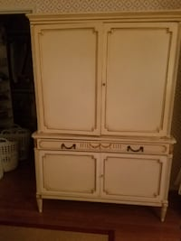 white wooden cabinet with drawer 44 km