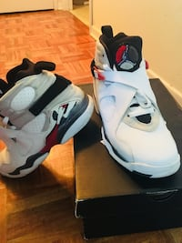 Pair Jordan 8 bugs bunny shoes. Size 6.5Y. Willing to do a packaged deal
