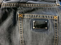 black Levi's denim bottoms