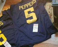 Jabrill Peppers signed jersey Michigan Wolverines  Kalamazoo, 49009