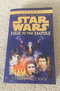 Star Wars Legends Heir To The Empire Book Olney, 20832