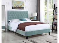 Queen Size Upholstered Bed Frame Brand New!! Toronto, M2M 0B1