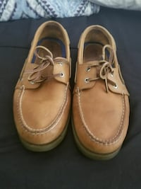 pair of 11men, brown sperry shoes Pasadena, 77503