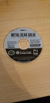 Disc 1 Metal Gear Solid Twin Snakes for Gamecube 2262 mi