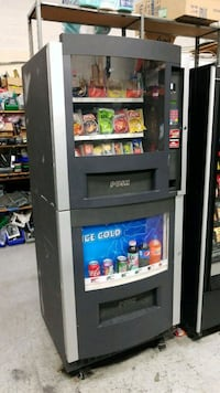 As is blowout sale firm price combo vending machin Gaithersburg, 20879
