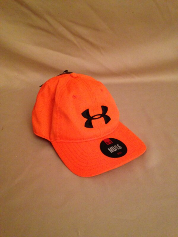 68493aee502 New Mens Under Armour Performance Fitted Hat - Orange usado en venta en  Dallas - letgo