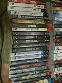 Ps3 games 5 for $20 Toronto, M1K 2C5