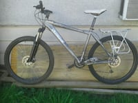 black and gray hardtail mountain bike Coquitlam, V3K 2J1