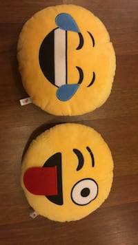 Emoji pillows Richmond Hill