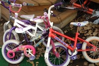 toddler's pink and white bicycle Calgary, T3J 1E6