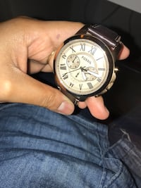 Men's fossil watch with leather straps  Rockville, 20850