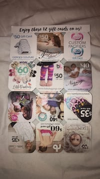 Multiple Gift Cards Los Angeles, 91604