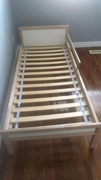 white and brown wooden bed frame Hamilton, L9K 1R4
