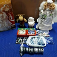 assorted ceramic figurines with boxes 2878 km