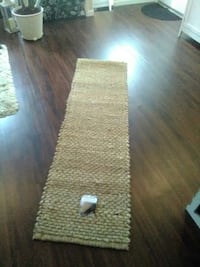 brown runner rug