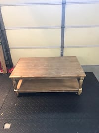 Tan Havertys Coffee Table Savannah, 31410