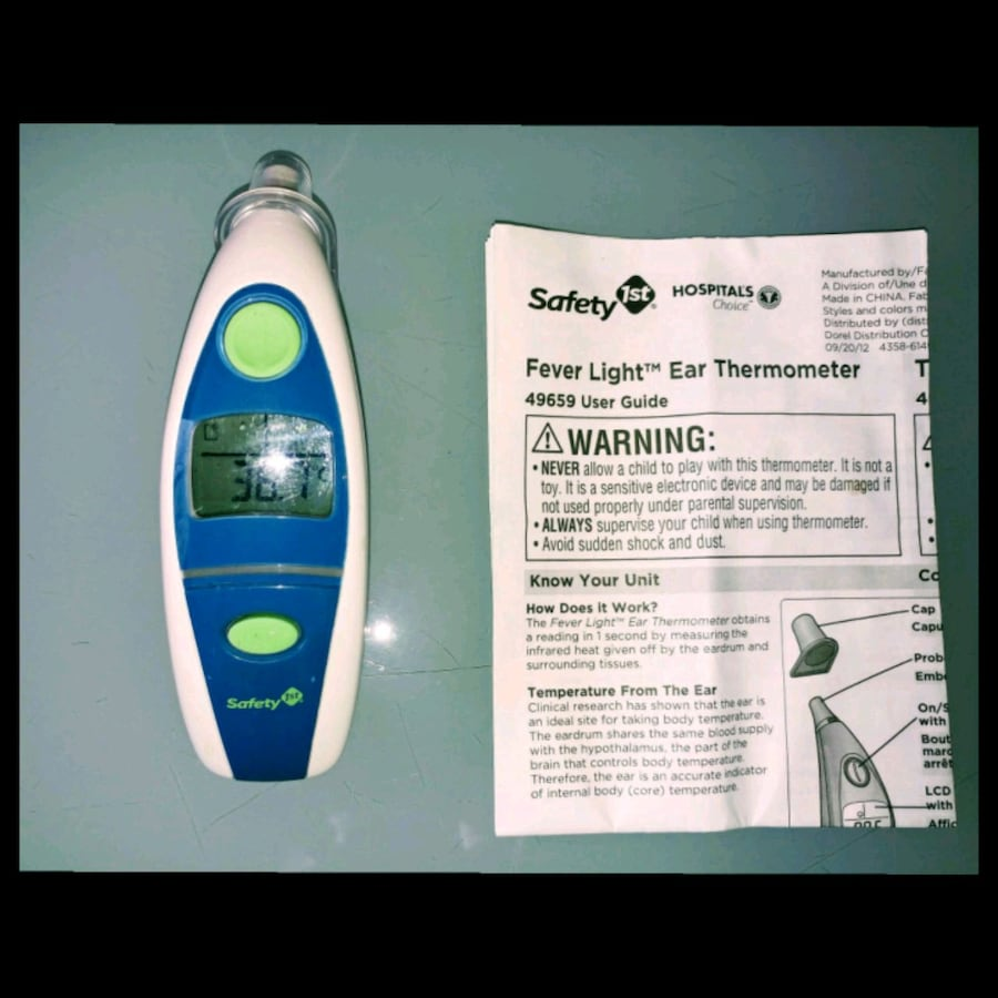 Safety 1st - Hospital Recommended Ear Thermometer