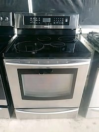 Stove glass top stainlees steel SAMSUNG 807 mi