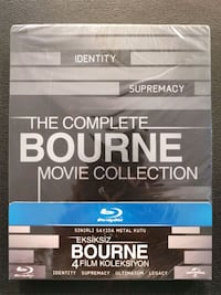 The Complete Bourne Movie Blu-Ray Istanbul