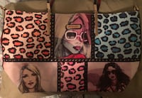 Three women graphics printed tote bag new