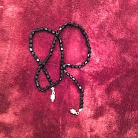 GIFT IDEA! NEW - Black Crystal Necklace from Beijing Pearl Market Richmond, V6X