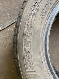 Used 215 65 R16 tire set of 4