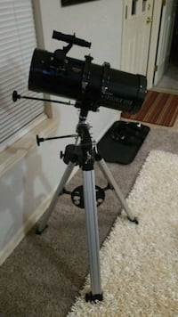 black and gray telescope with tripod New Albany, 47150